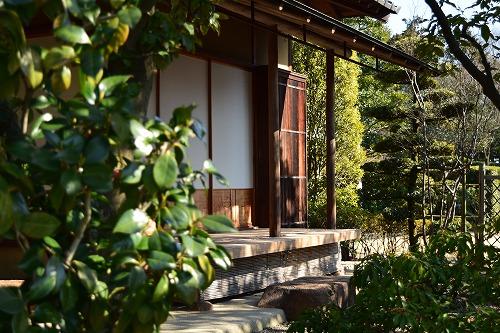 花田苑 日本家屋 縁側