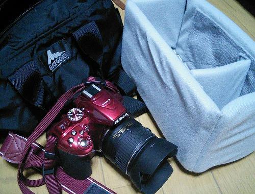 カメラバッグ 自作