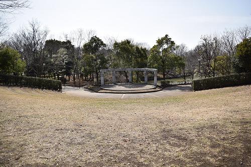 草加公園 ステージ
