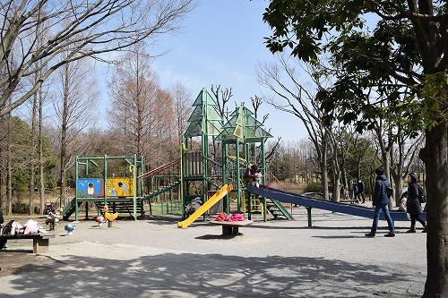 草加公園 遊具広場