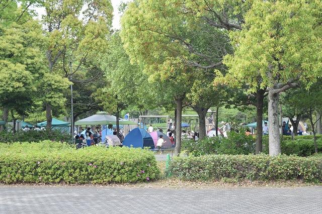 庄和総合公園 BBQエリア