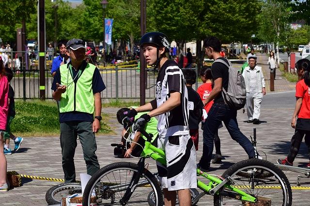 全日本バイクトライアル選手権 飯塚選手
