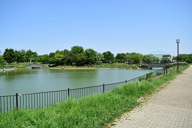 出羽公園 2つの沼