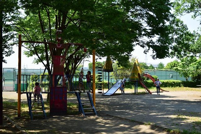 出羽公園 古い遊具施設