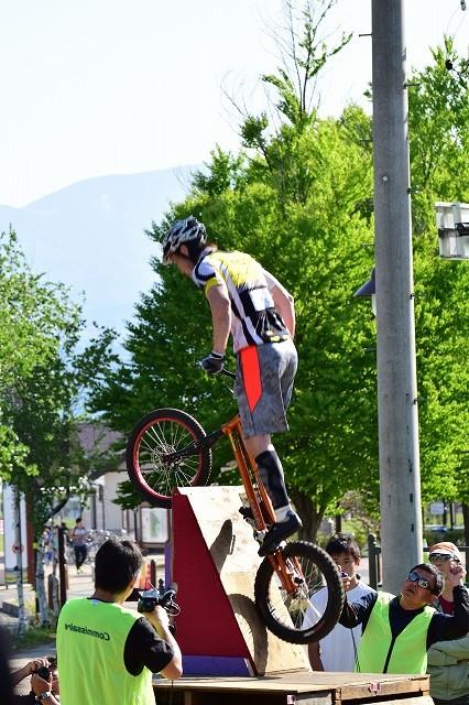 全日本バイクトライアル選手権 寺井選手