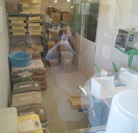 越谷市 ラーメン 川崎屋 製麺機