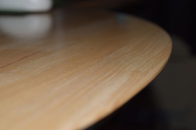 テーブル ニス塗り 完成