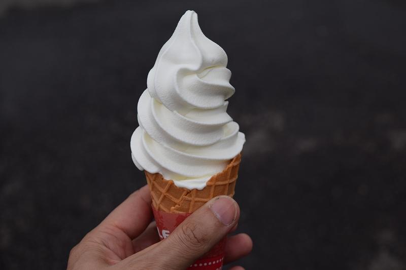 大笹牧場 ソフトクリーム